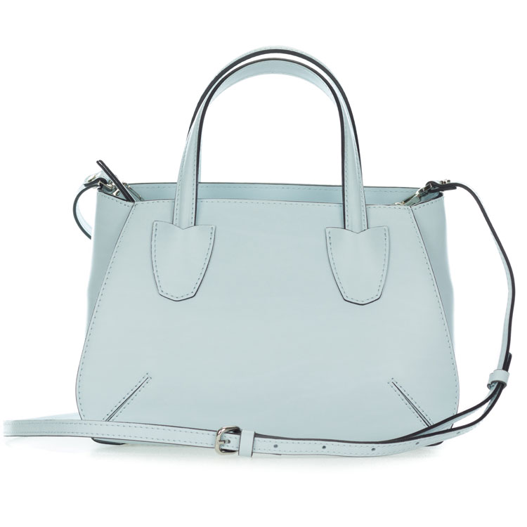 Gianni Chiarini Italian Made Pale Blue Leather Small Purse