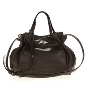 Gianni Chiarini Italian Made Dark Brown Leather Handbag